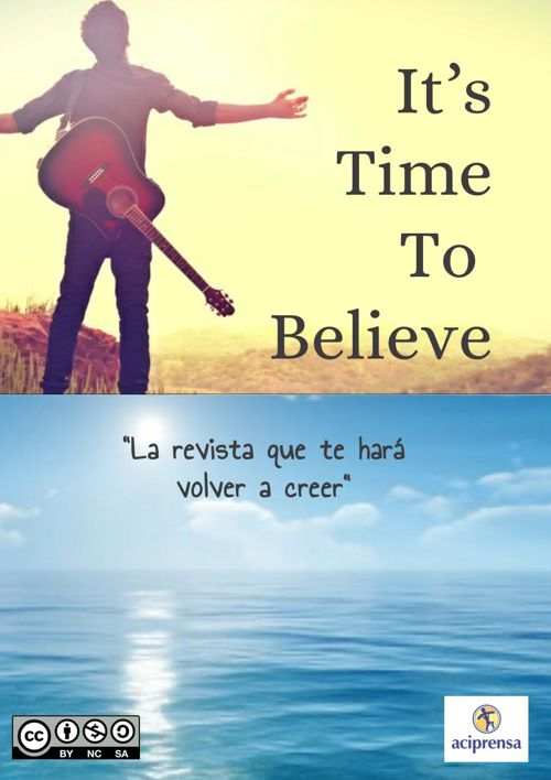 REVISTA . IT'S TIME TO BELIEVE
