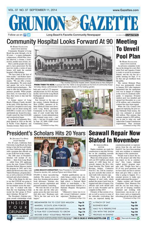 Grunion Gazette | September 11, 2014