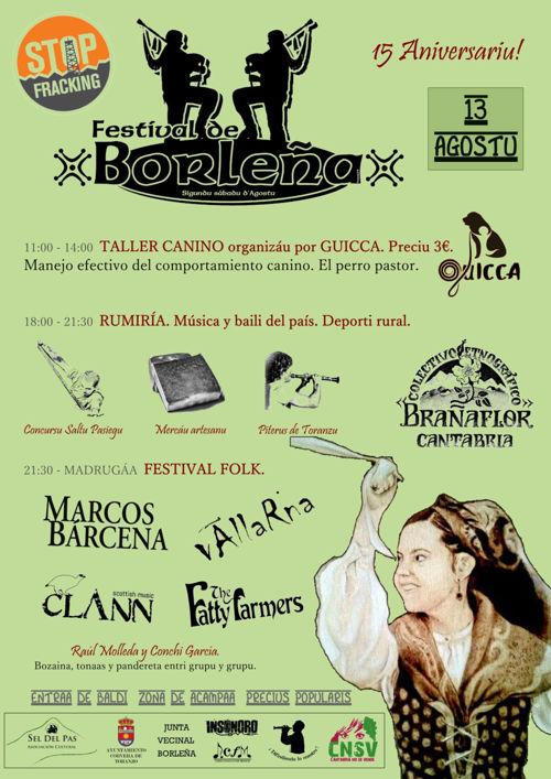 XV Festival de Borleña 2016