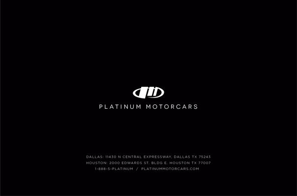 Platinum Motorcars Membership Booklet V2