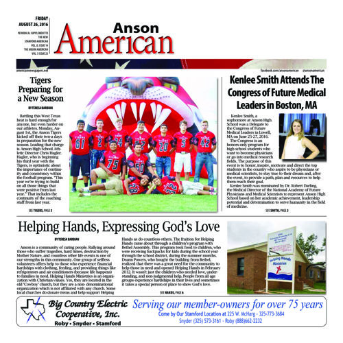 Anson - Vol 8 Issue 7