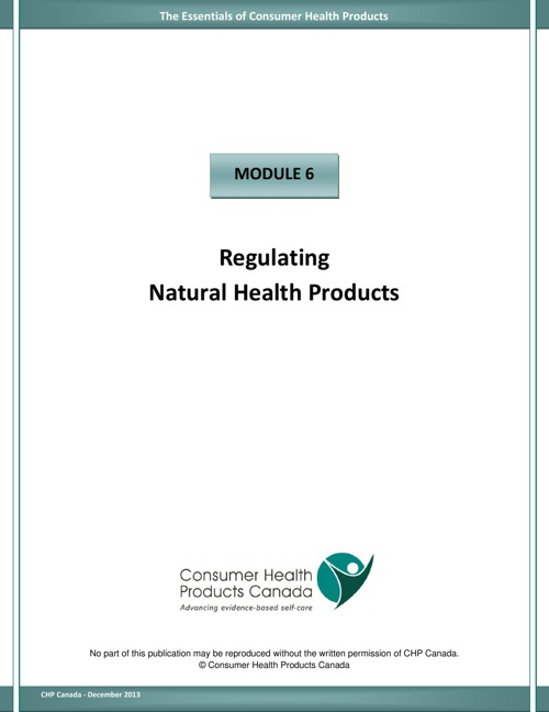 Module 6 - Regulating NHPs