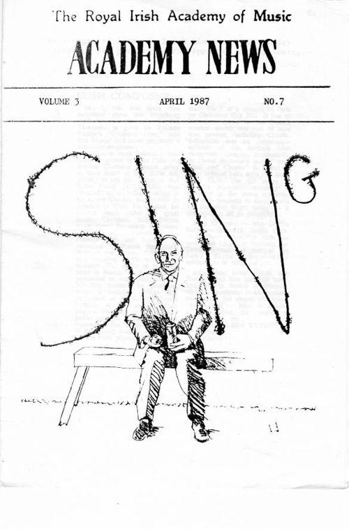 Academy News April 1987