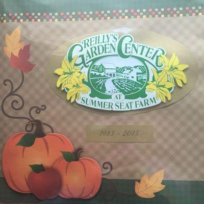 Reilly's Garden Center at Summer Seat Farm Scrapbook Part. 1