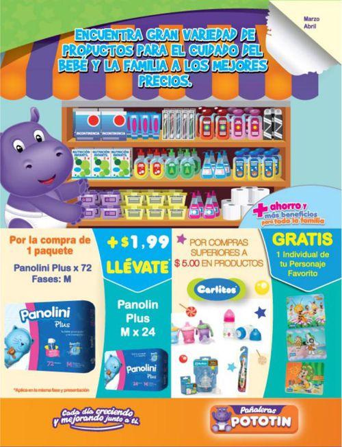 Tiendas POTOTIN catalogo Marzo-Abril 2015