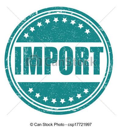 importación