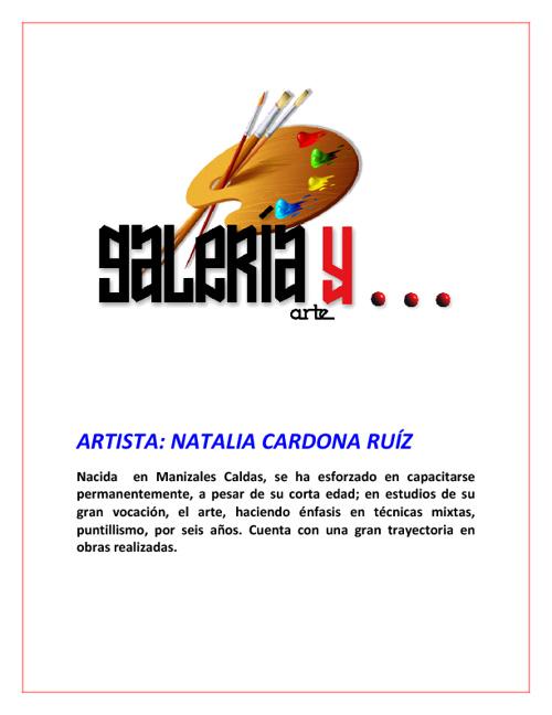 Galeria y Arte Natalia Cardona Ruíz
