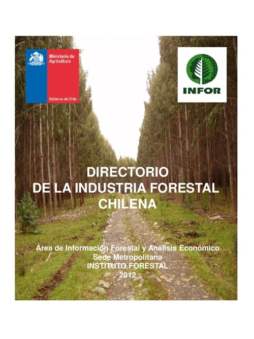 Directorio Industria Forestal Primaria