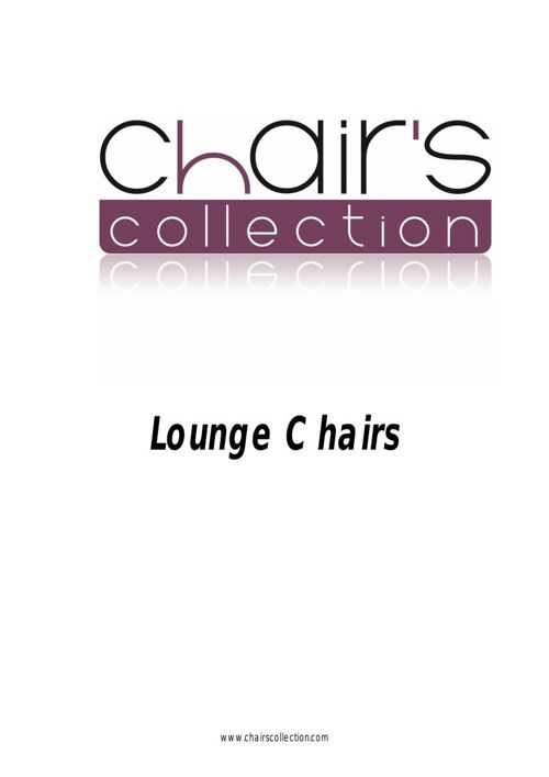 Chairs.Ed. Lounge chairs