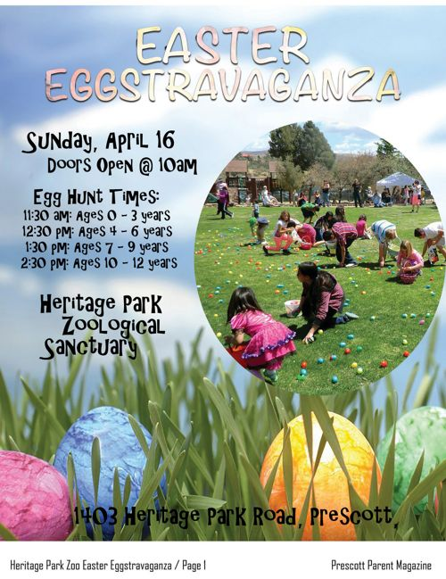Heritage Park Zoological Sanctuary Easter Eggstravaganza