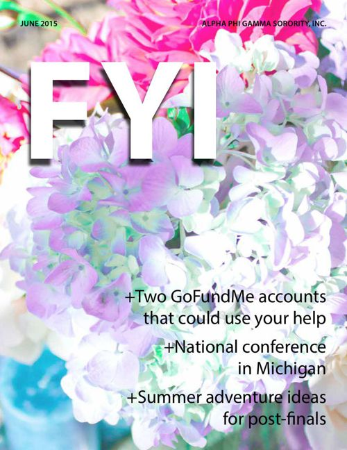 The F.Y.I. Newsletter - June 2015