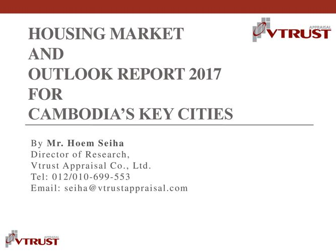 HMOR 2017- Cambodia Presentation by Hoem Seiha - Briefing