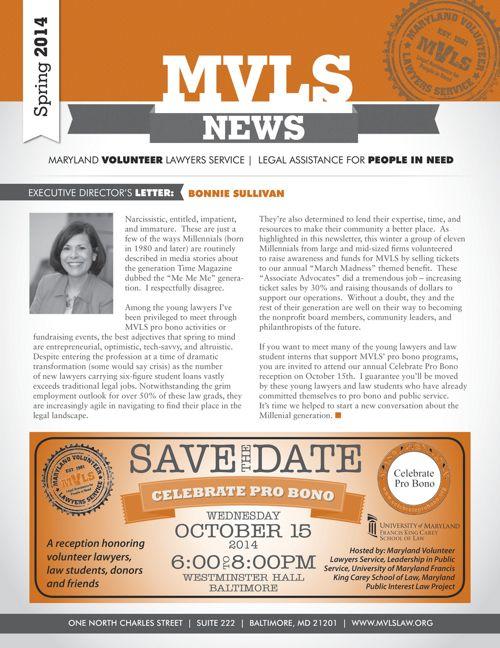 MVLS Spring 2014 Newsletter