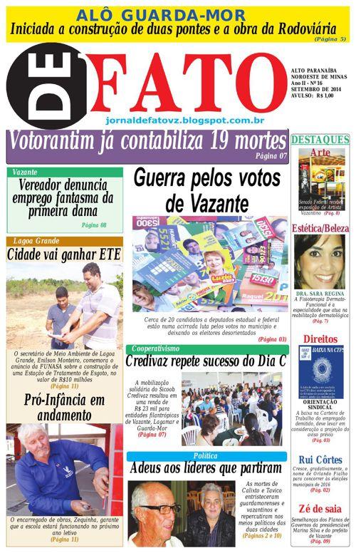 Jornal De Fato 16ª Edição