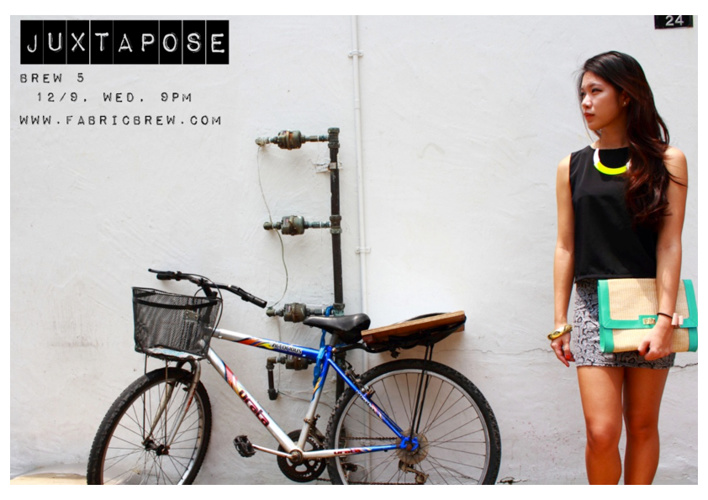 BREW FIVE LOOKBOOK: JUXTAPOSE