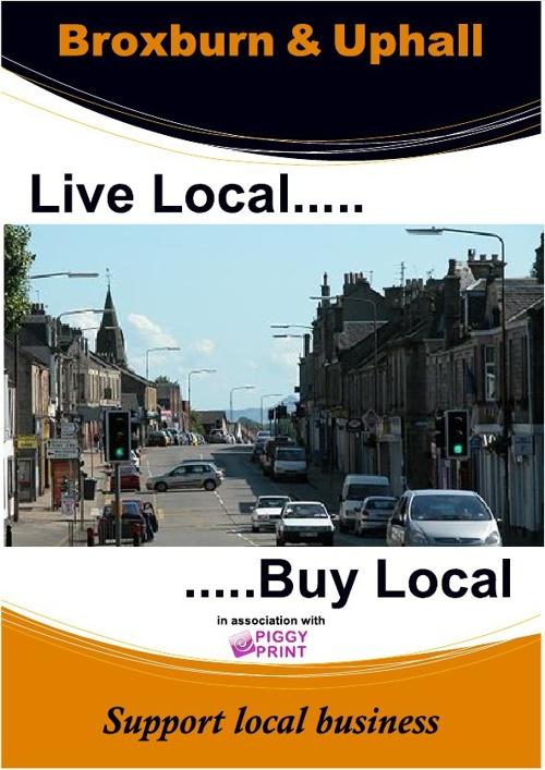 Live Local, Buy Local Broxburn & Uphall Edition 1