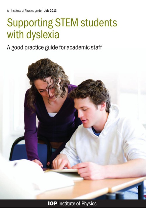 STEM and Dyslexia - Science, Technology, Engineering, Math