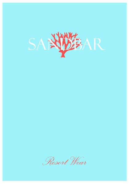 SANDBAR CATALOGUE