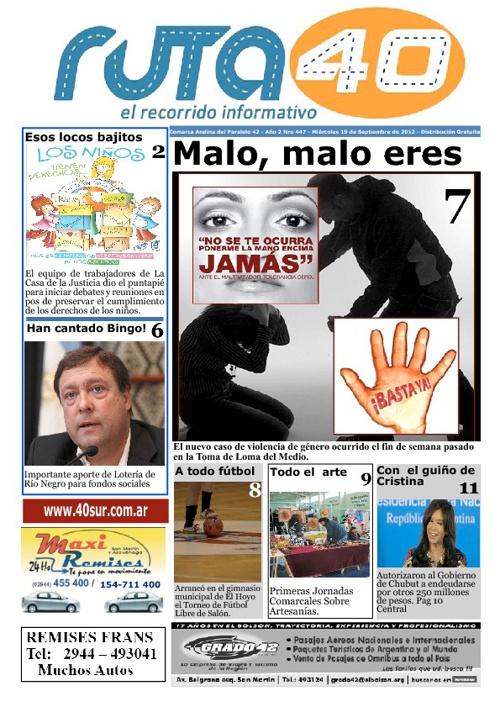 Diario Miércoles 19 de Septiembre