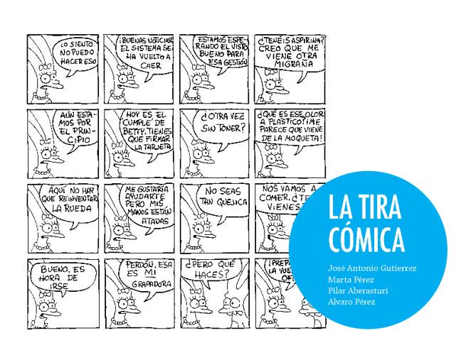 La Tira cómica:  Viñeta y montaje