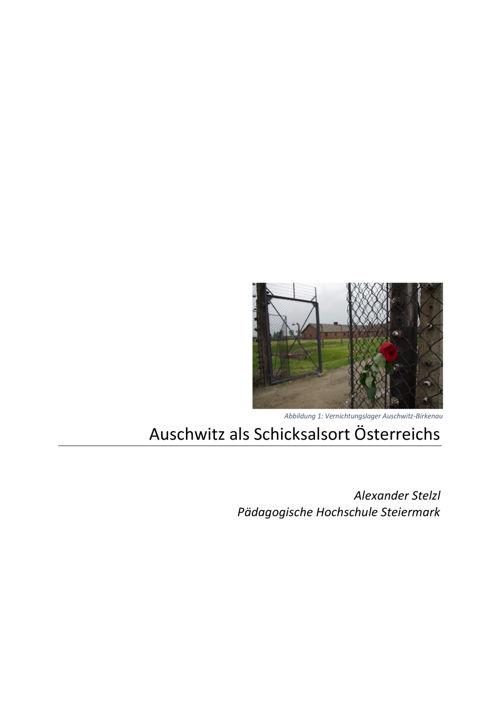 Ausschwitz als Schicksalsort Österreichs_AStelzl