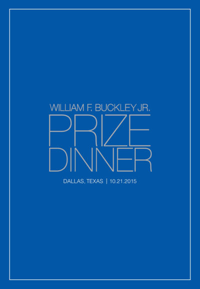 Buckley Prize Dinner 2015