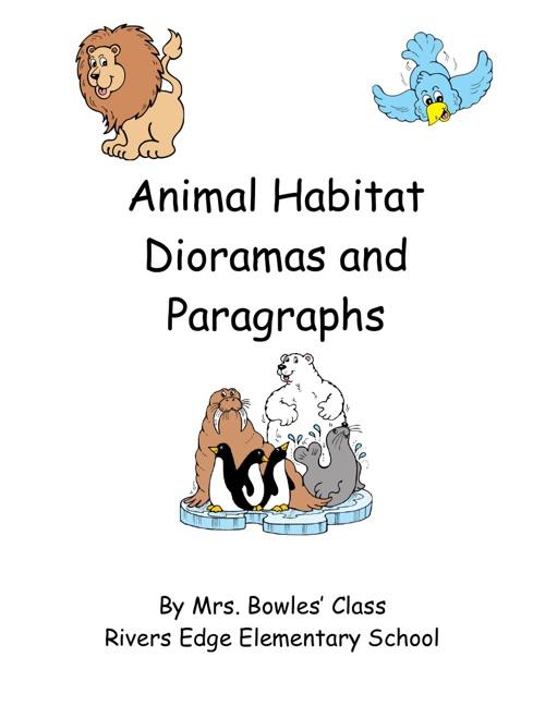 Animal Habitat Dioramas and Paragraphs