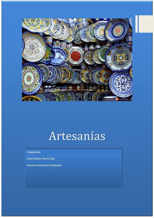 artesanias final
