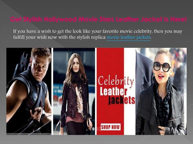 Buy Trendy Look Movie Star Leather Jackets