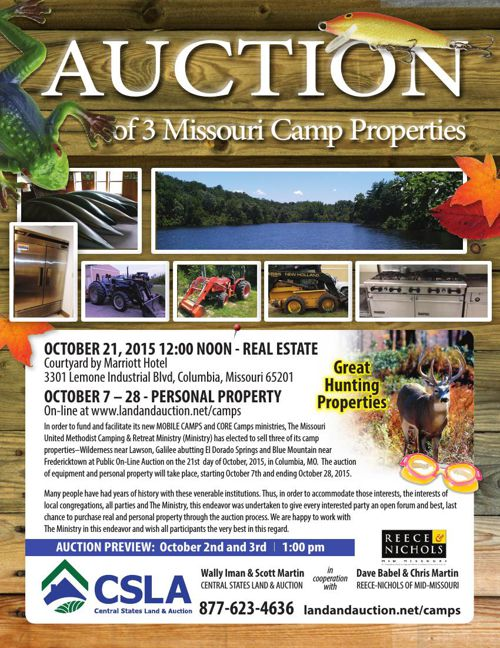 Missouri Methodist Conference Camp Auction
