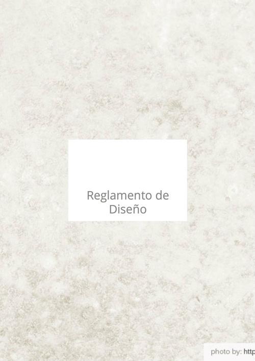 Reglamento de Diseño computacion 2