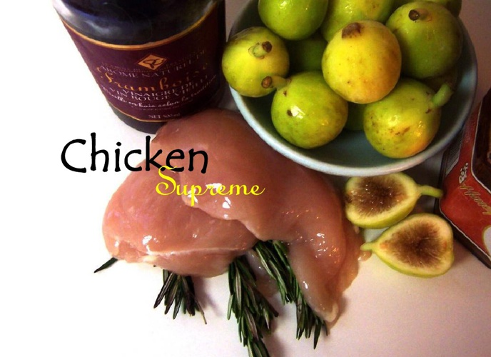 Chicken Supreme With Anchovy And Rosemary