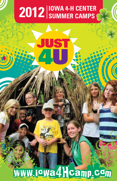 Iowa 4-H Center 2012 Resident Camp Brochure