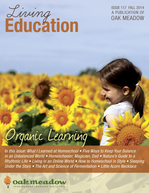 Living Education Fall 2014 : Organic Learning