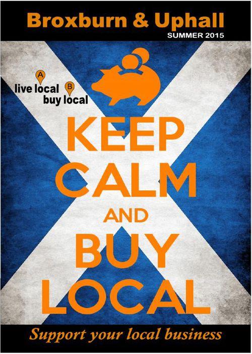 Live Local Buy Local Broxburn &  Uphall Summer 2015