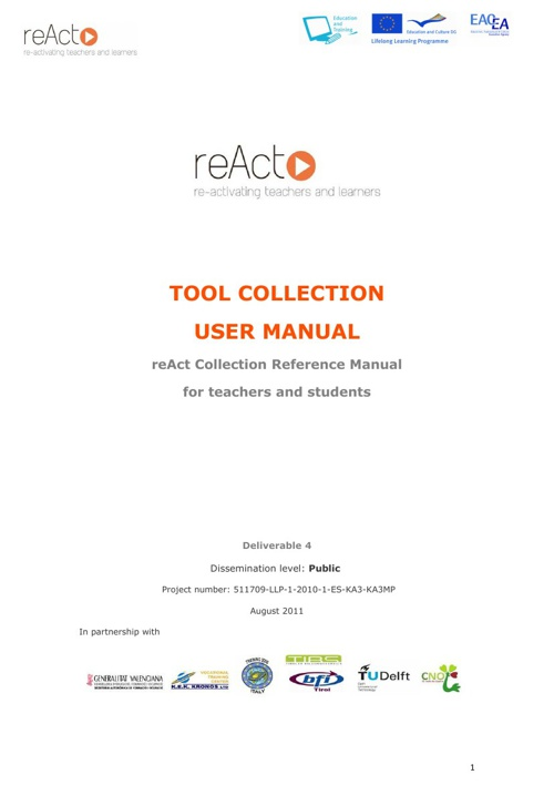 reAct Tool Collection User Manual