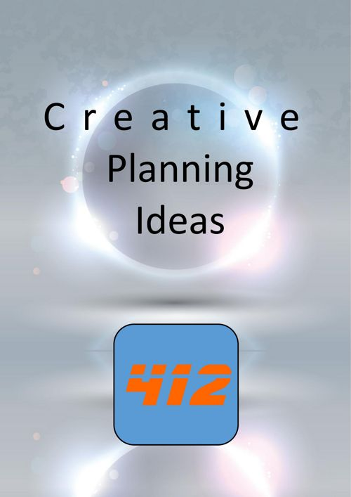 Creative Planning Booklet