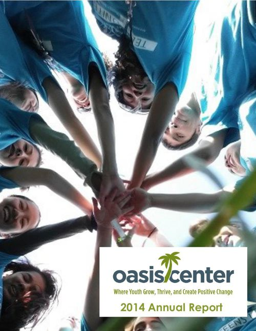 FY 14 Annual Report Oasis Center