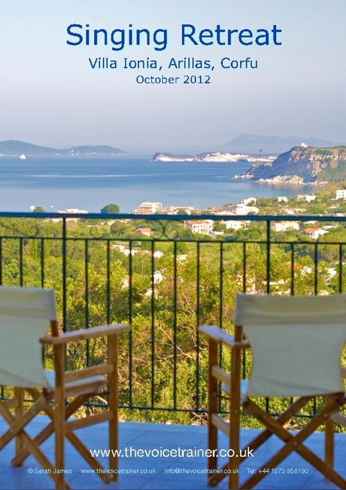Singing Retreat Corfu EUR