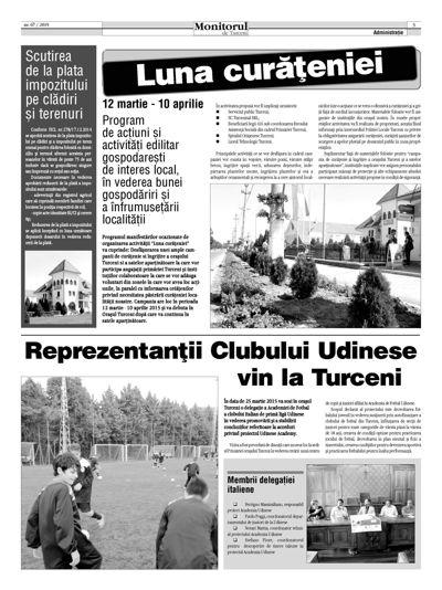 Monitorul de Turceni nr. 67 - 2015