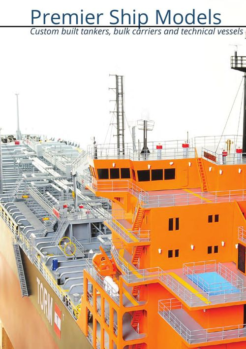 Model Ships of Tankers, Container Ships, Bulk Carriers, Technica
