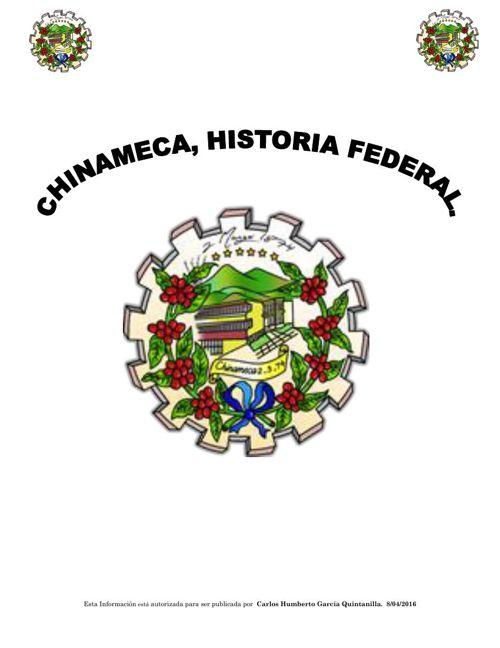 CRONOLOGIA E HISTORICA DE CHINAMECA