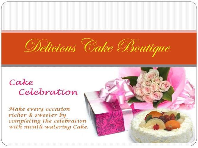 Delicious Cake Boutique