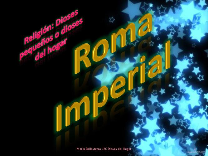 La religión en la Roma Imperial