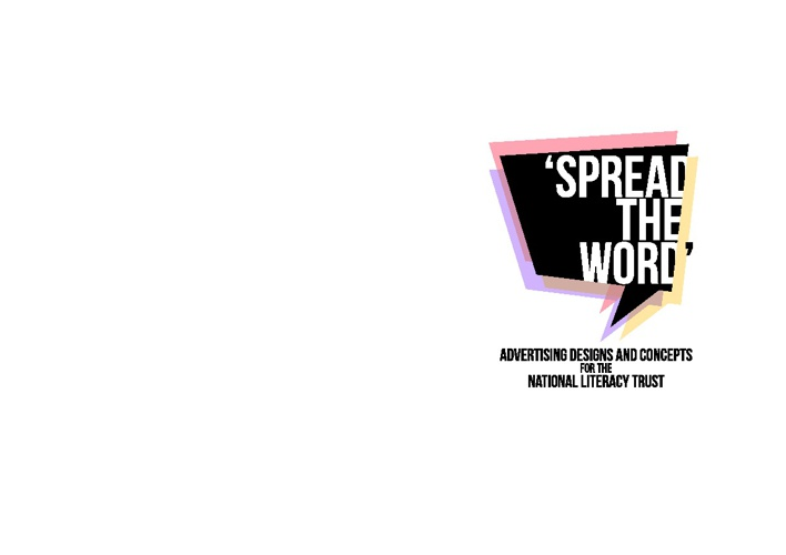 'Spread The Word'- Advertising Designs and Concepts for the NLT