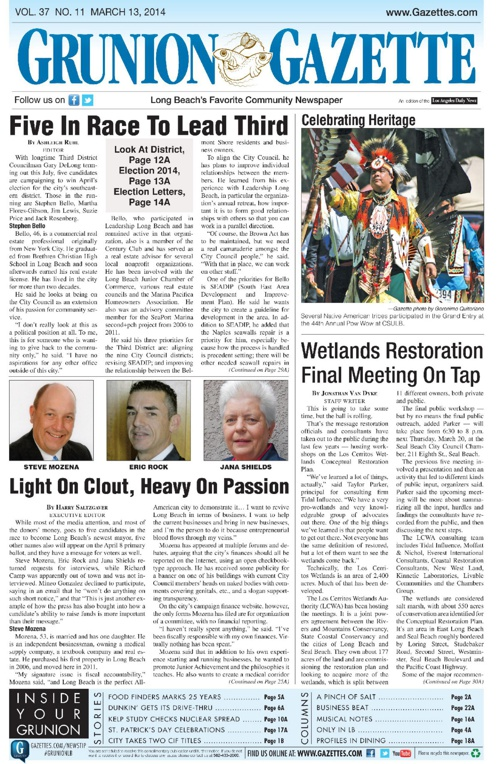 Grunion Gazette 3-14-14