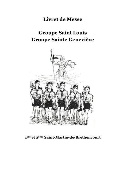 livret messe scout et guide St Martin