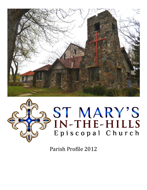 St. Mary's in-the-Hills Parish Profile 2012
