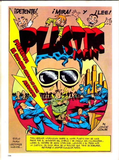 Plastic Man presenta: El hombre que no se dejaba atrapar