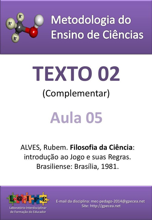 2015-MEQ1-AULA 06- TEXTO 02 COMPLEMENTAR